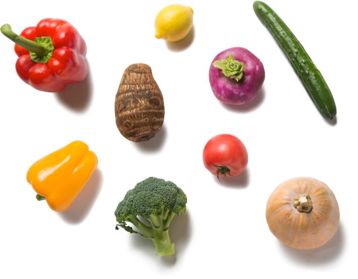 波佐見の食材のイメージ