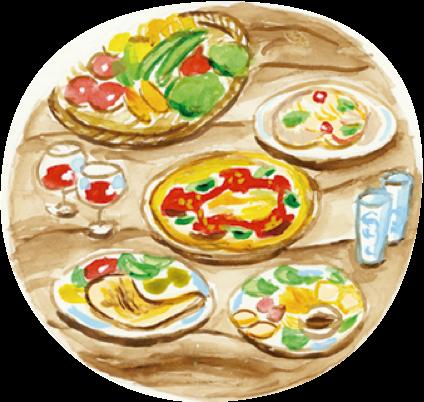 ピザのイメージ